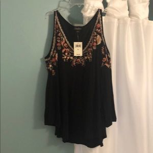 New Lucky cold shoulder blouse